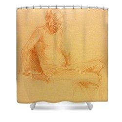 Joe #1 Shower Curtain