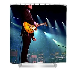 Joe Bonamassa 2 Shower Curtain by Peter Chilelli