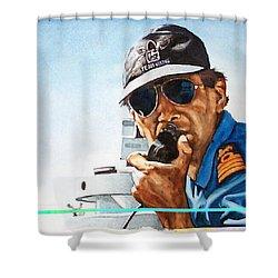 Joe Johnson Shower Curtain by Tim Johnson