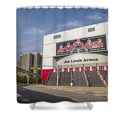 Joe Louis Arena Detroit  Shower Curtain