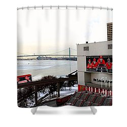 Joe Louis Arena Shower Curtain