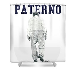 Joe Paterno Shower Curtain