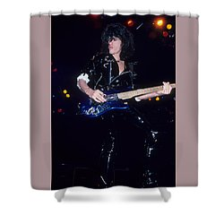 Joe Perry Shower Curtain by Rich Fuscia