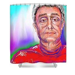 Joe Self Portiture  Shower Curtain