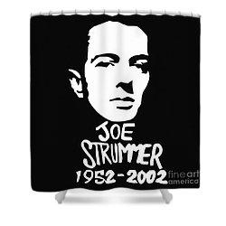 Joe Strummer Shower Curtain