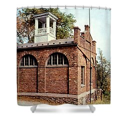 John Browns Fort  Shower Curtain by Ruth  Housley
