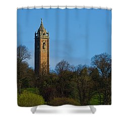 John Cabot Tower Shower Curtain by Brian Roscorla