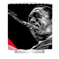 John Coltrane Collection Shower Curtain
