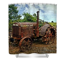 Shower Curtain featuring the photograph John Deer 3 by Marty Koch