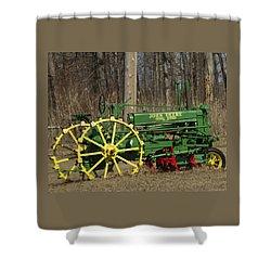 John Deer Tractor Shower Curtain