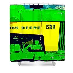 John Deere 630 Shower Curtain by John Gerstner