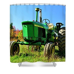 John Deere Autumn Shower Curtain