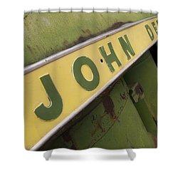 John Deere Shower Curtain by Jeffery Ball