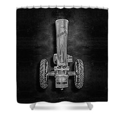 John Deere Top Bw Shower Curtain by YoPedro