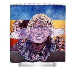 John Denver Shower Curtain