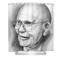 John Dingell Shower Curtain