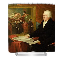 John Eardley Wilmot  Shower Curtain by Benjamin West