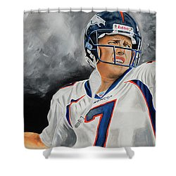 John Elway 2  Shower Curtain