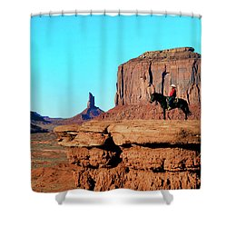 John Ford's Point Shower Curtain