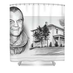 John Glenn Birth Place 2 Shower Curtain