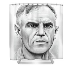 John Heisman Shower Curtain