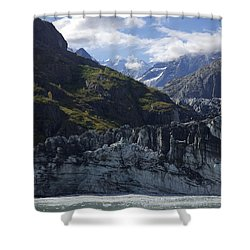 John Hopkins Glacier 15 Shower Curtain
