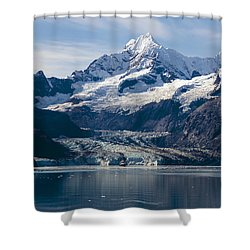 John Hopkins Glacier 3 Shower Curtain