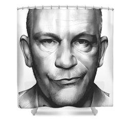 John Malkovich Shower Curtain