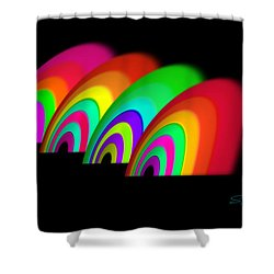 John Moores Liverpool Exhibition 12 Shower Curtain by Charles Stuart