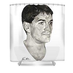 John Stockton Shower Curtain