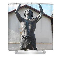 John The Babtist Shower Curtain