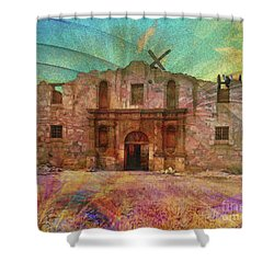 John Wayne's Alamo Shower Curtain