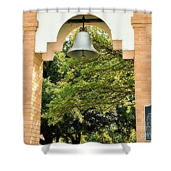 Shower Curtain featuring the photograph John Wheeler Bunton Historic Memorial by Ray Shrewsberry