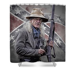 Johnny Reb Shower Curtain