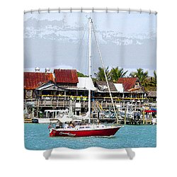 Johns Pass Florida Shower Curtain by David Lee Thompson