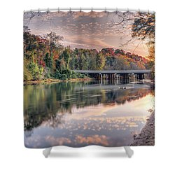 Johnson Ferry Bridge Shower Curtain