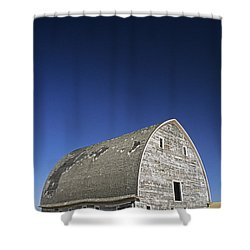 Johnson Road Barn Shower Curtain