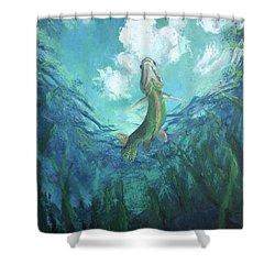 Joi De Vivre Shower Curtain