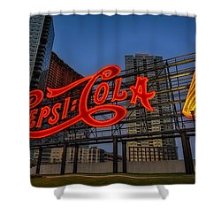 Join The Pepsi Generation Shower Curtain