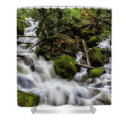 Joining Forces Shower Curtain