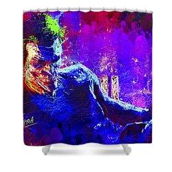 Joker's Grin Shower Curtain