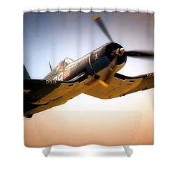 Jolly Roger Sortie Shower Curtain