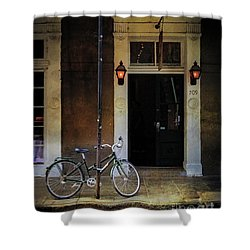 Jolt 709 Bicycle Shower Curtain