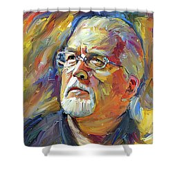 Jon Lord Deep Purple Portrait 2 Shower Curtain