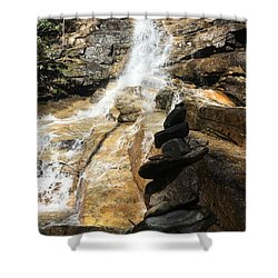Jones Gap Falls  Shower Curtain by Kelly Hazel