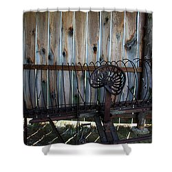 Shower Curtain featuring the photograph Jones Seat by Joanne Coyle