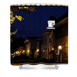 Jonesborough Tennessee 13 Shower Curtain