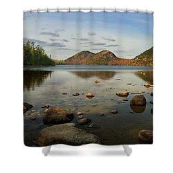 Jordan Pond 1 Shower Curtain