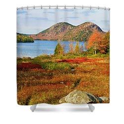 Jordan Pond 2 Shower Curtain