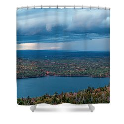 Jordan Pond Shower Curtain